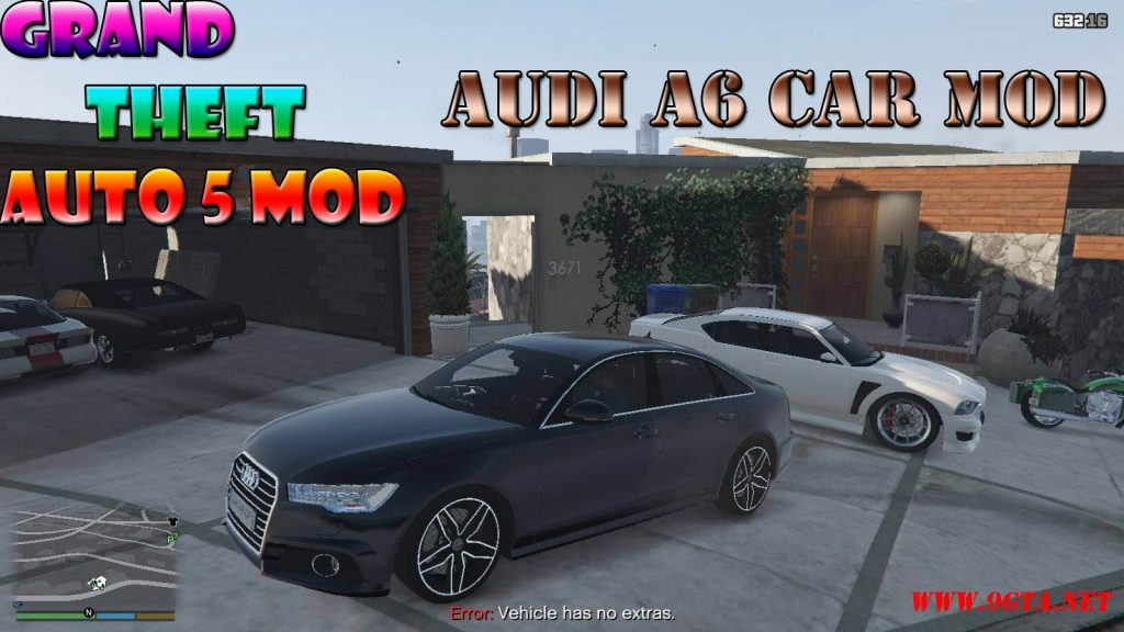 Audi A6 Mod For GTA5