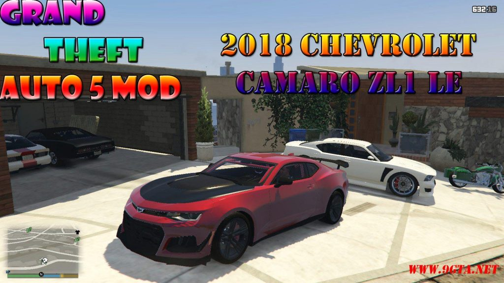2018 Chevrolet Camaro ZL1 LE Mod For GTA5