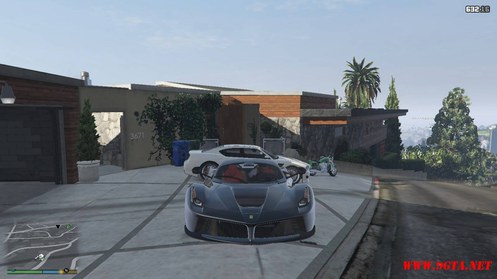 2015 Ferrari LeFerrari Mod For GTA5 (10)