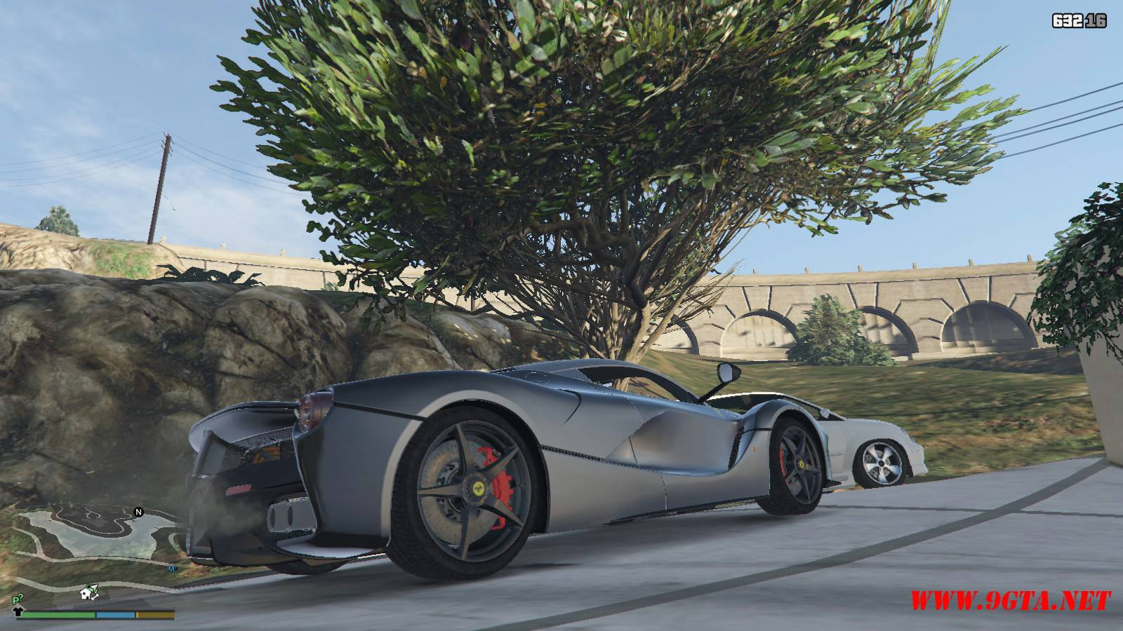 2015 Ferrari LeFerrari Mod For GTA5 (7)