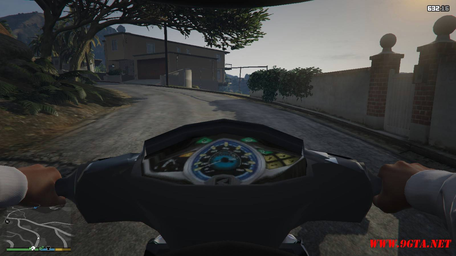 2015 Honda Wave 125i Mod For GTA5 (11)