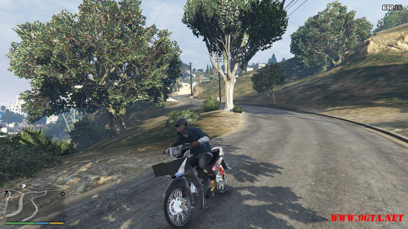 2015 Honda Wave 125i Mod For GTA5 (14)