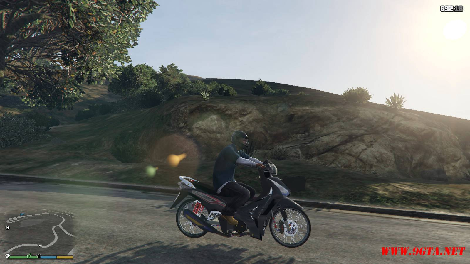 2015 Honda Wave 125i Mod For GTA5 (15)
