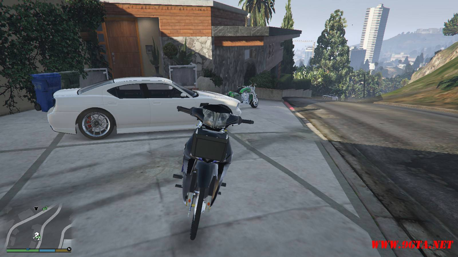 2015 Honda Wave 125i Mod For GTA5 (2)