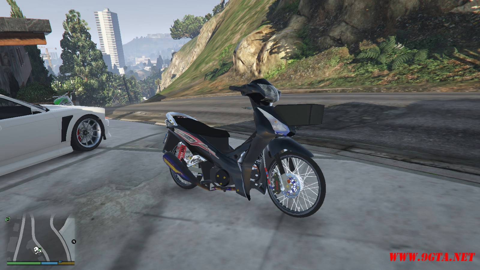 2015 Honda Wave 125i Mod For GTA5 (3)