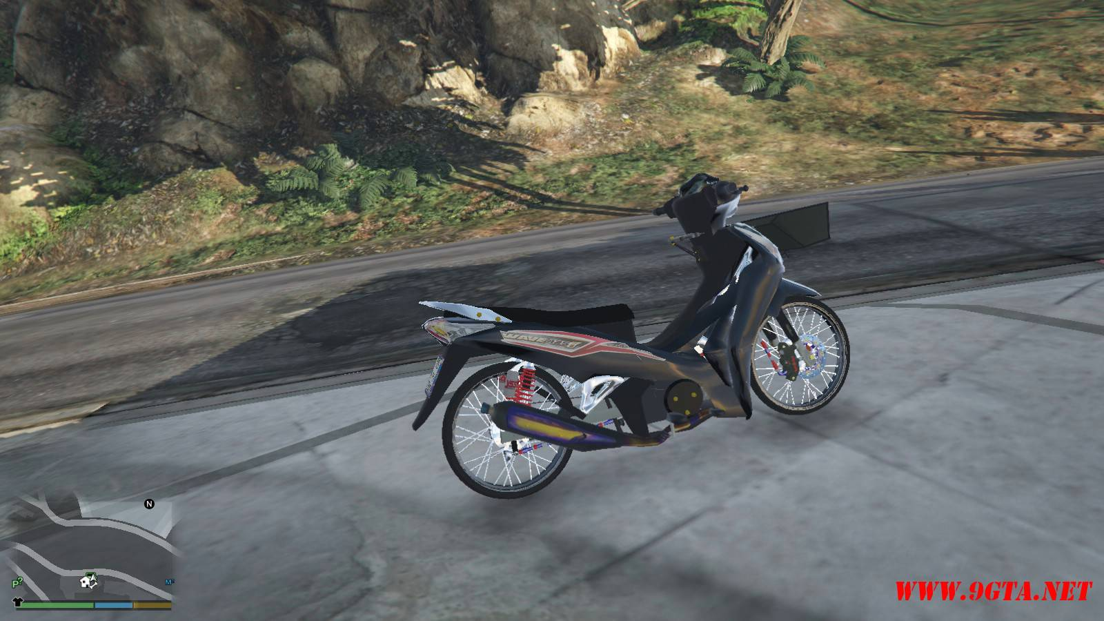 2015 Honda Wave 125i Mod For GTA5 (4)