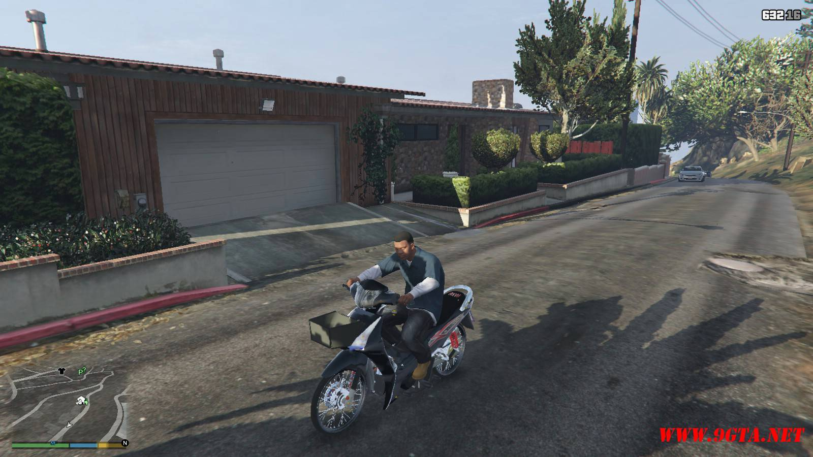 2015 Honda Wave 125i Mod For GTA5 (6)