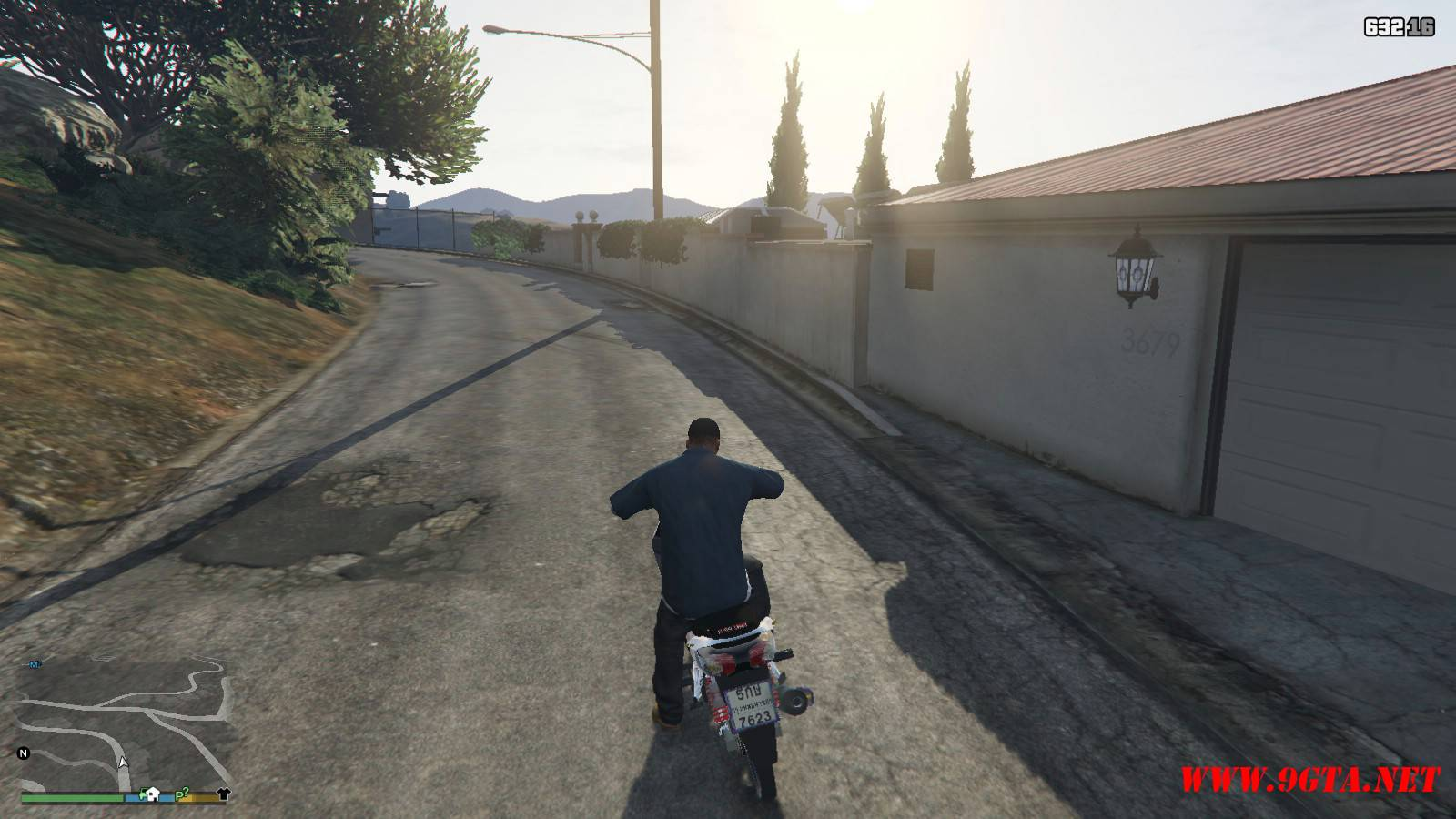 2015 Honda Wave 125i Mod For GTA5 (8)