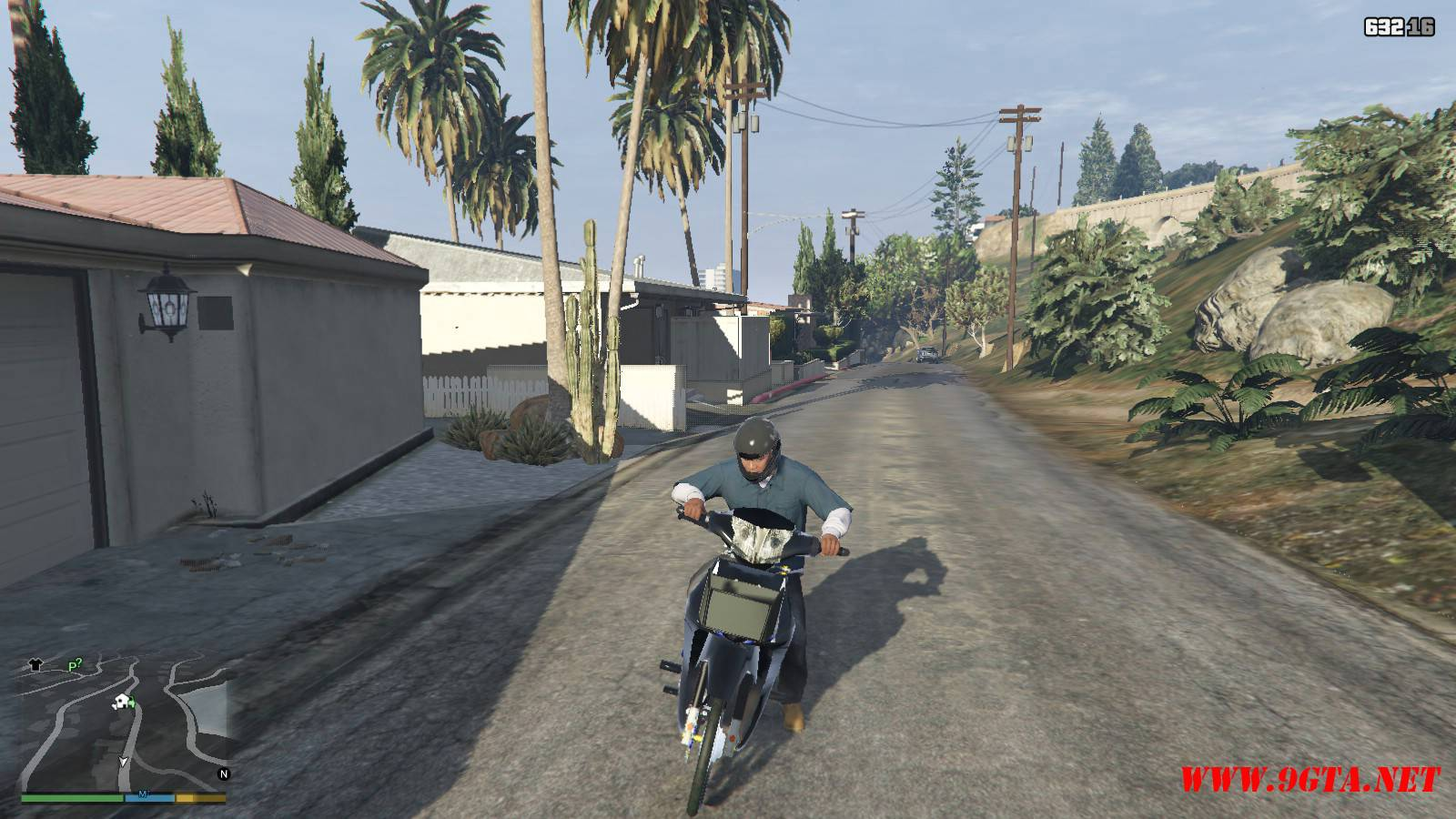 2015 Honda Wave 125i Mod For GTA5 (9)