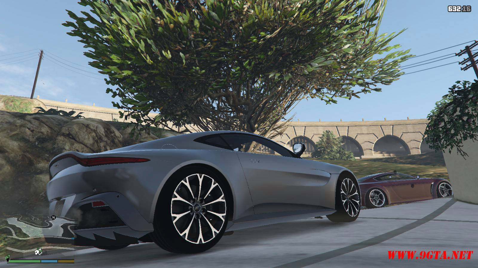 2019 Aston Martin Vantage v3.0 Mod For GTA5 (7)