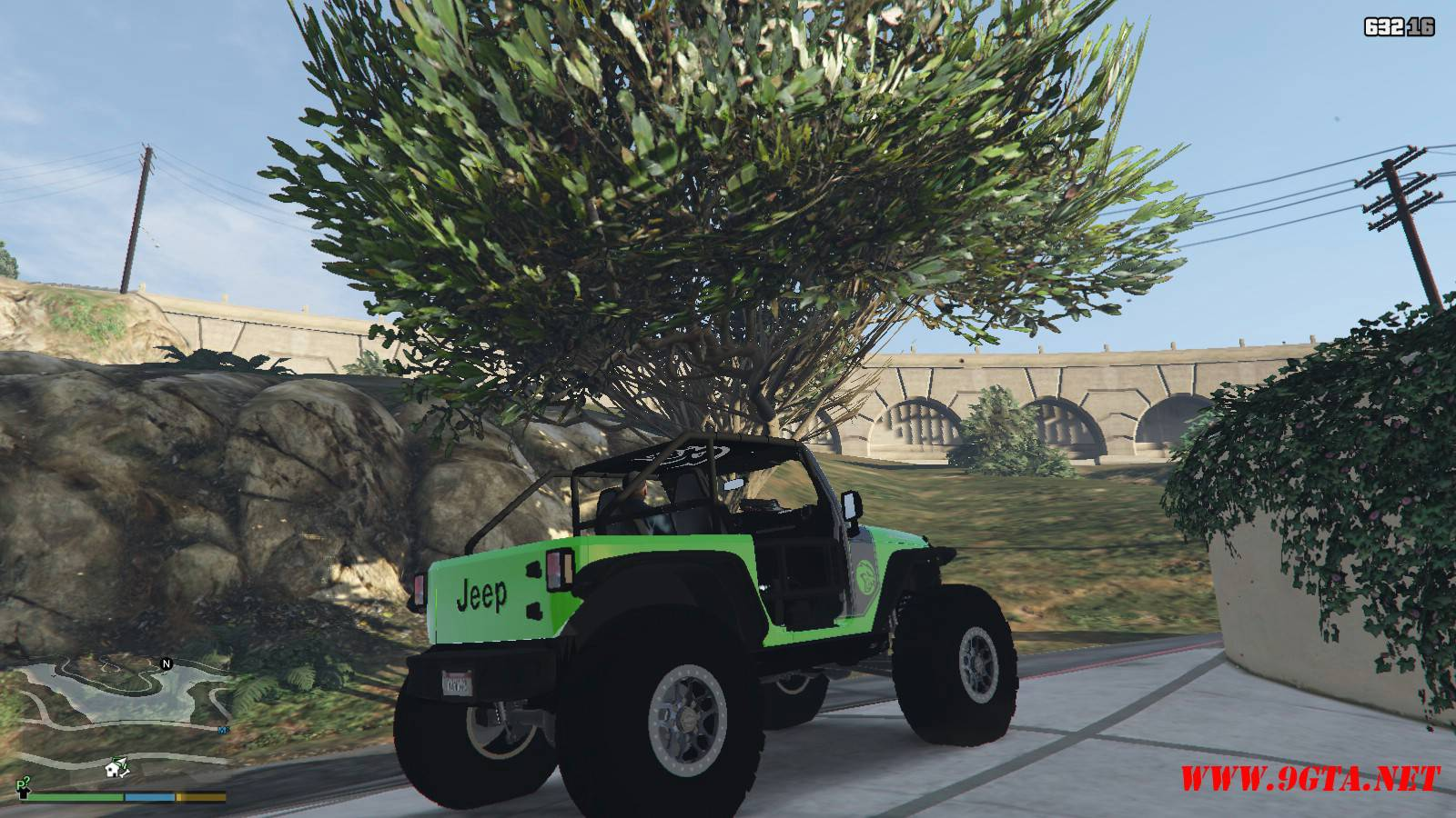 Jeep Trailcat Concept v2 Mod For GTA5 (10)