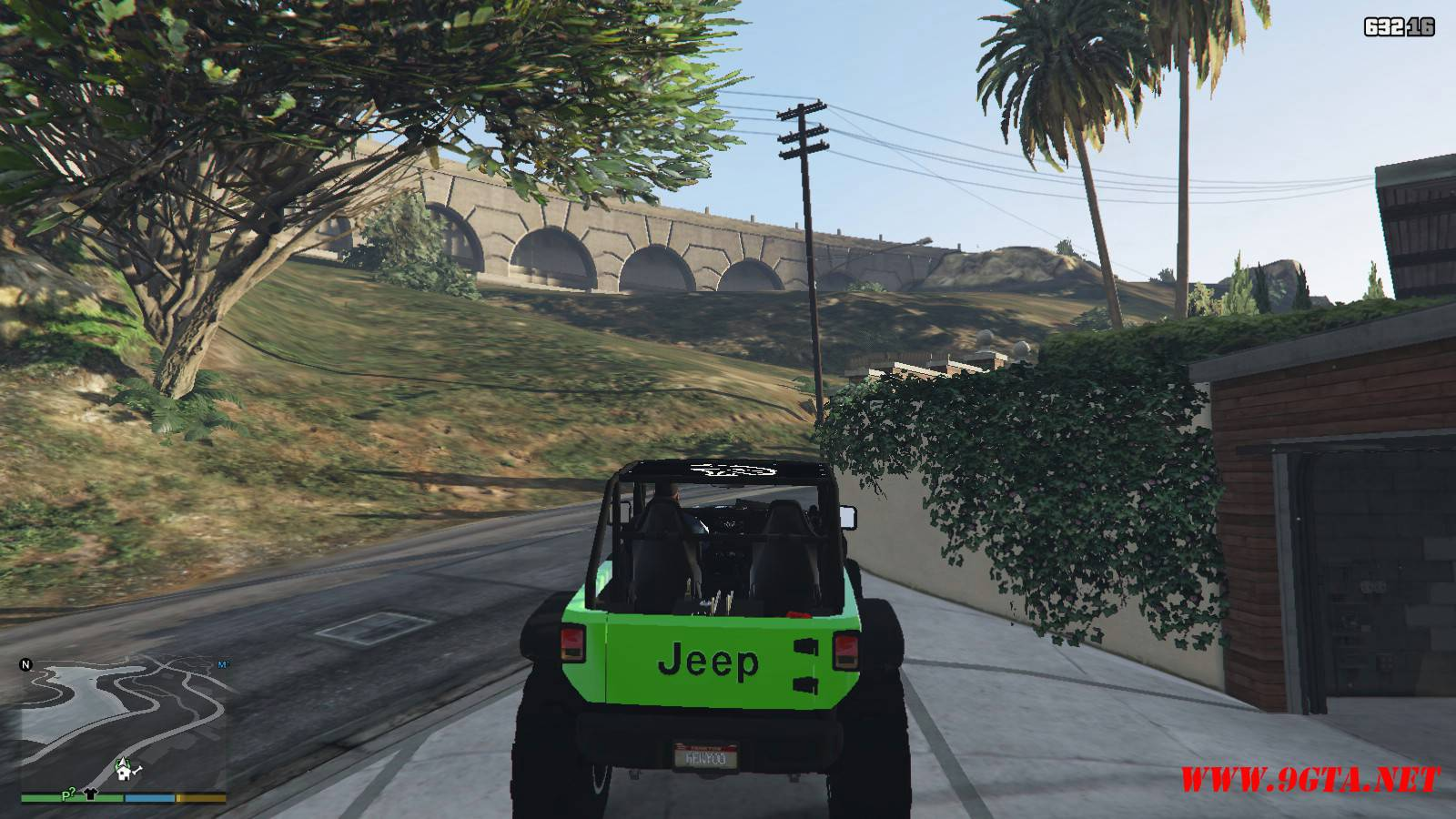Jeep Trailcat Concept v2 Mod For GTA5 (8)