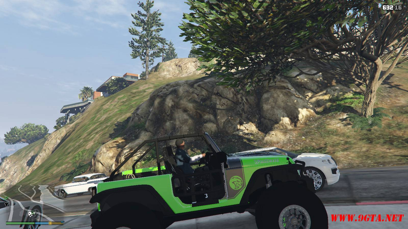 Jeep Trailcat Concept v2 Mod For GTA5 (9)