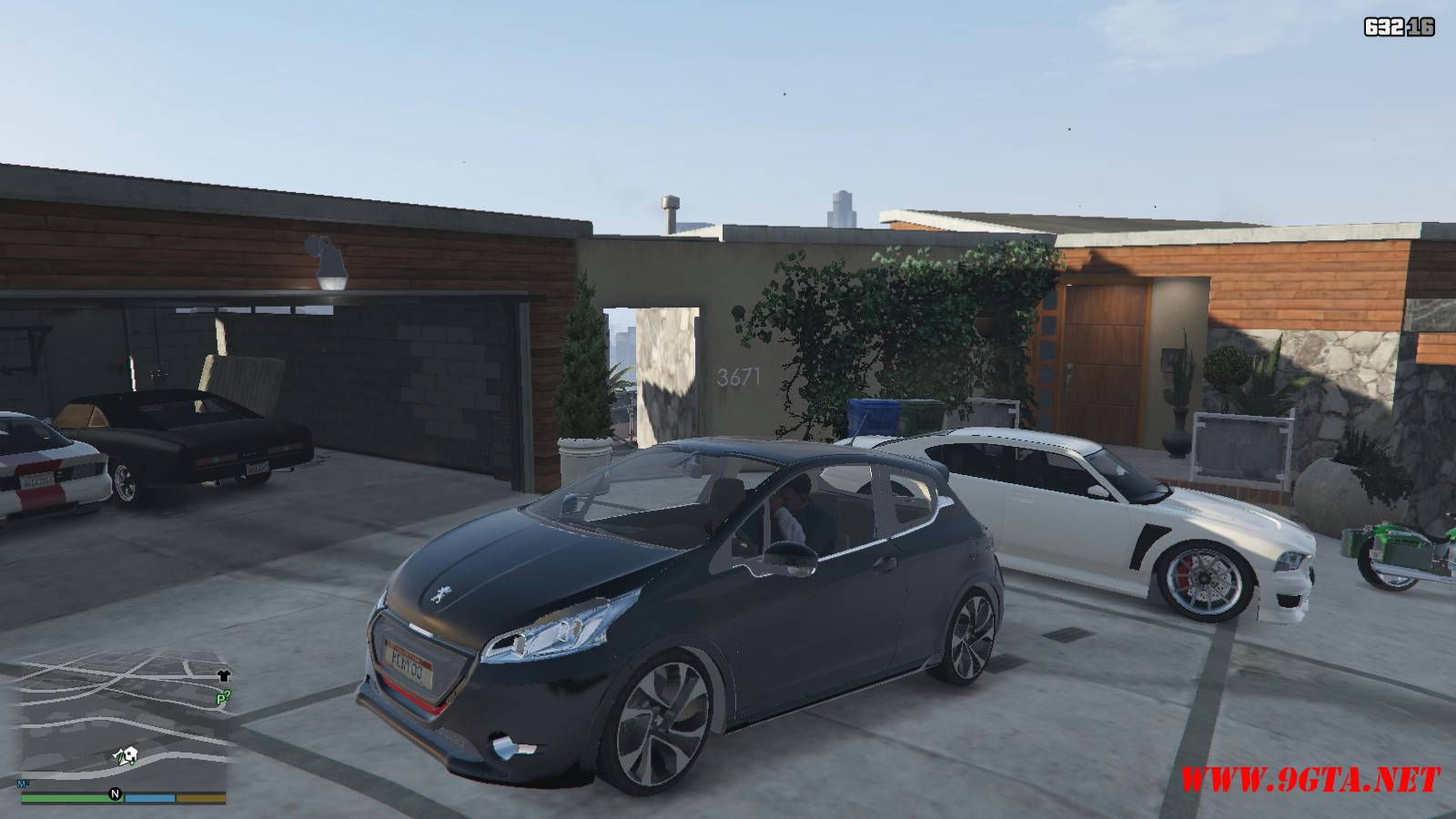 Peugeot 208 Mod For GTA5 (1)