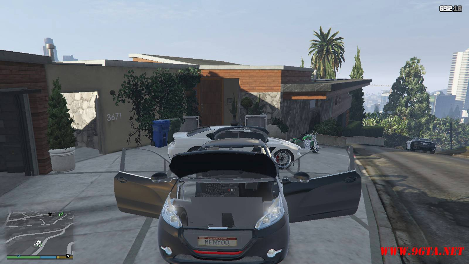 Peugeot 208 Mod For GTA5 (19)