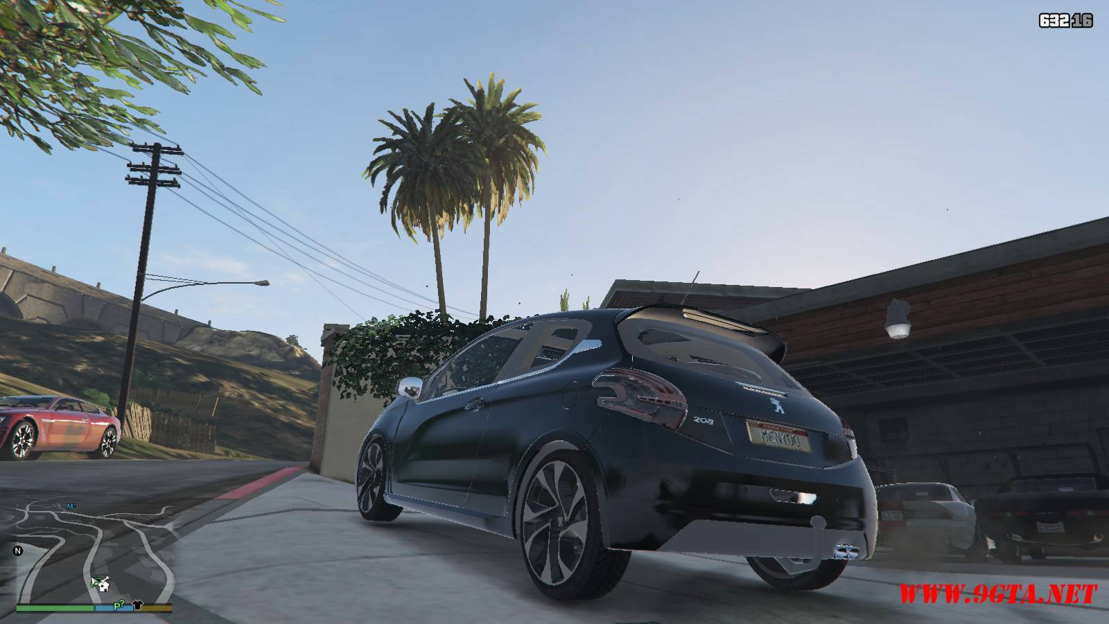 Peugeot 208 Mod For GTA5 (4)