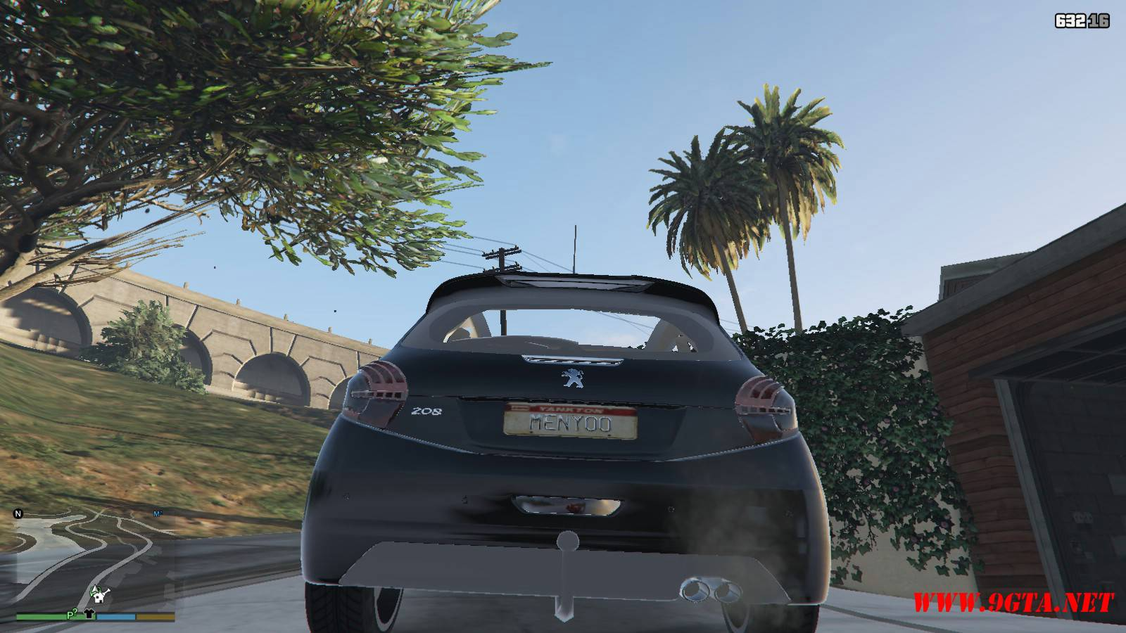 Peugeot 208 Mod For GTA5 (5)