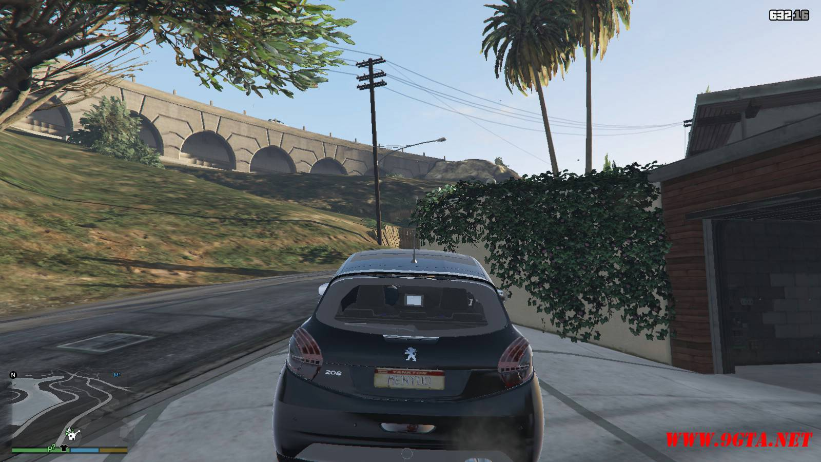Peugeot 208 Mod For GTA5 (6)