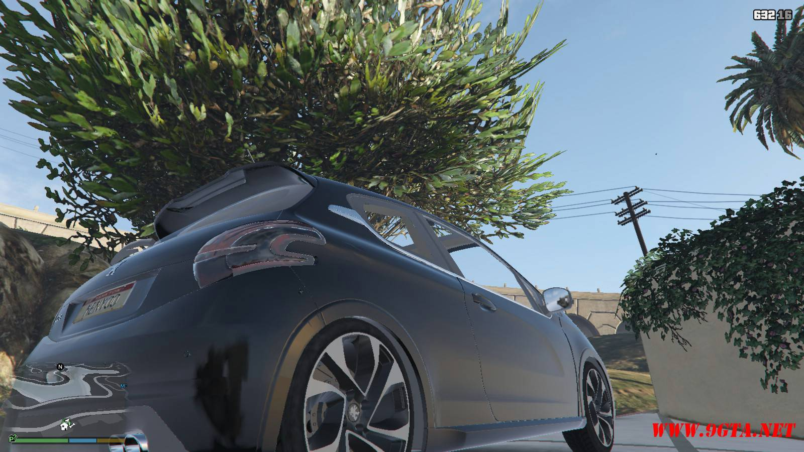 Peugeot 208 Mod For GTA5 (8)