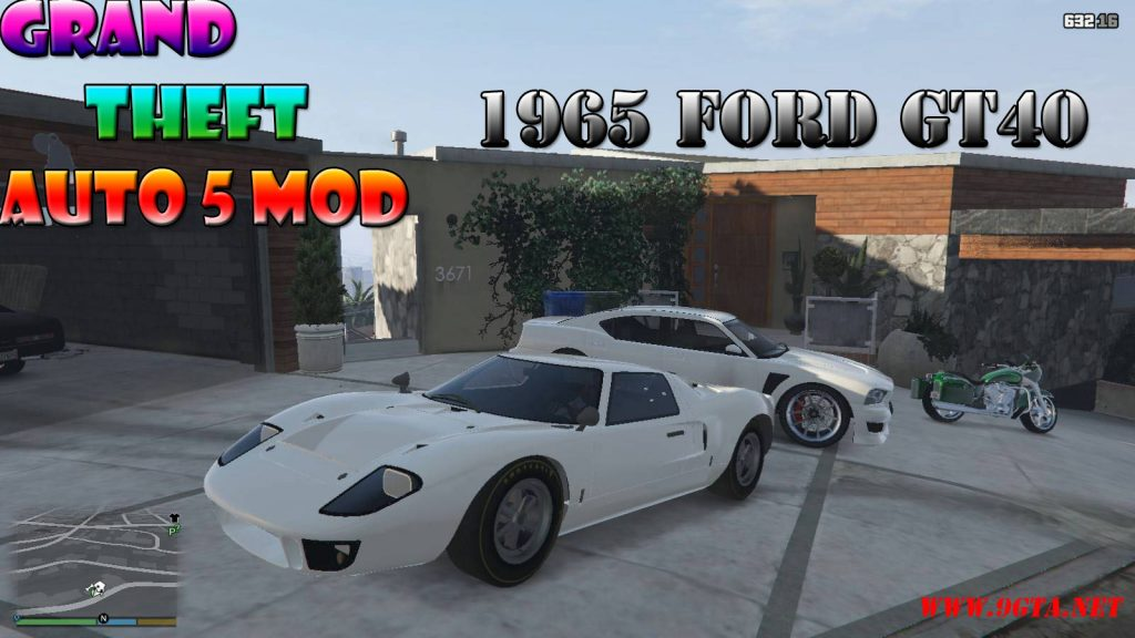 1965 Ford GT40 MK1 Mod For GTA5