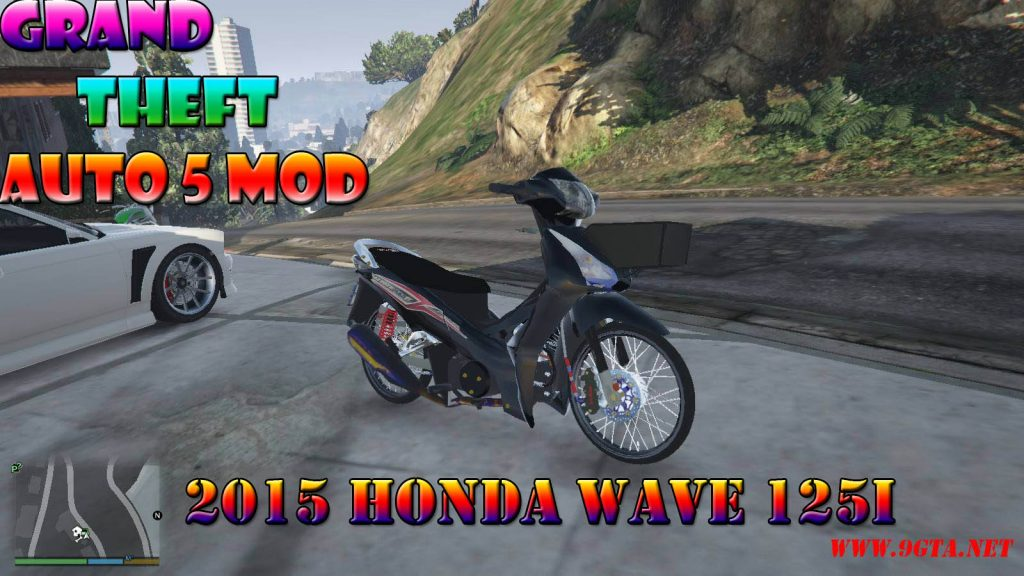 2015 Honda Wave 125i Mod For GTA5