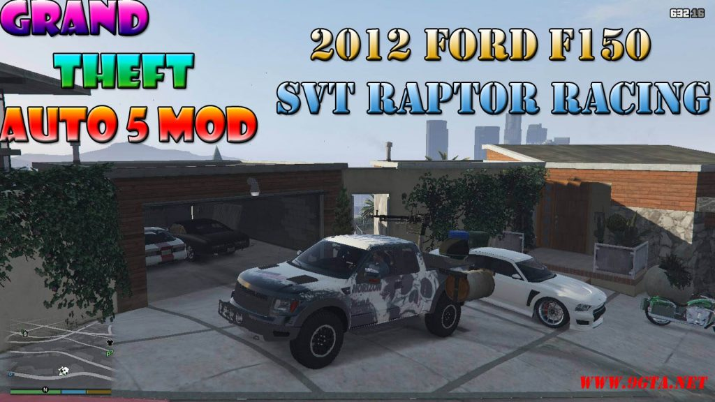 2012 Ford F150 SVT Raptor R Mod For GTA5