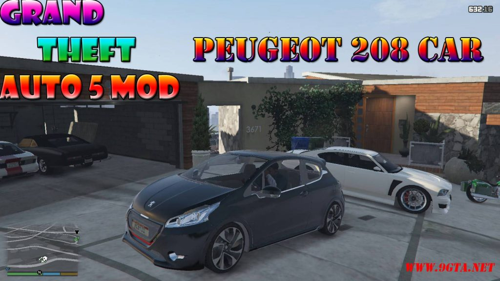 Peugeot 208 Mod For GTA5