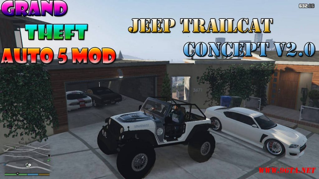 Jeep Trailcat Concept v2 Mod For GTA5