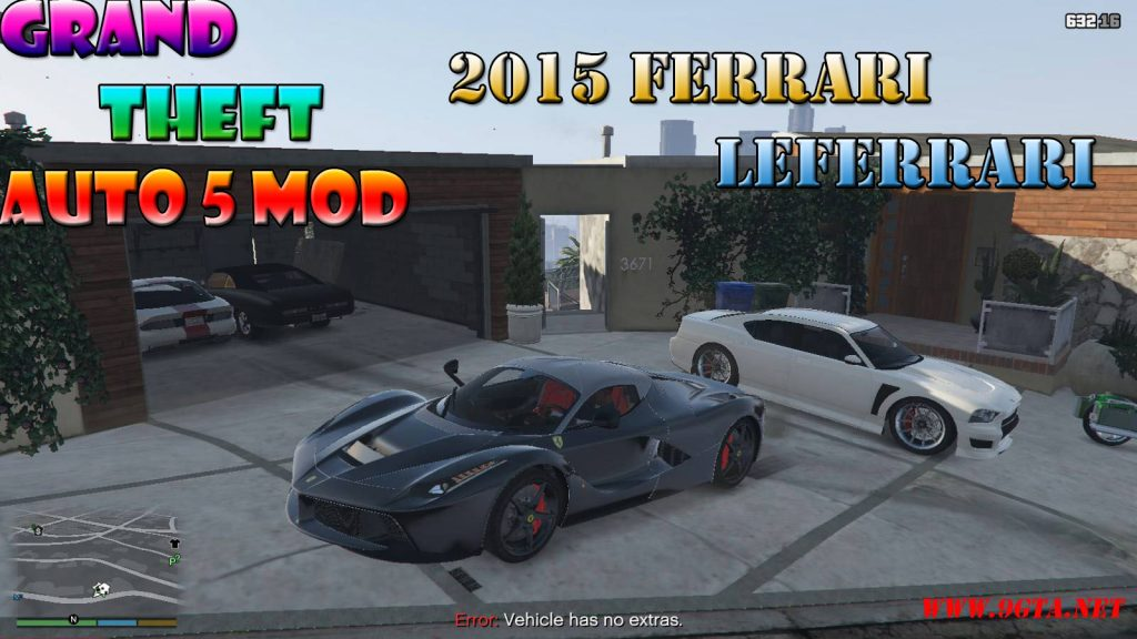 2015 Ferrari LeFerrari Veneno Mod For GTA5