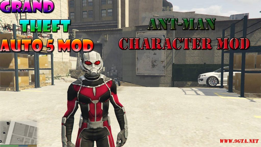 Ant-Man Character Mod For GTA5