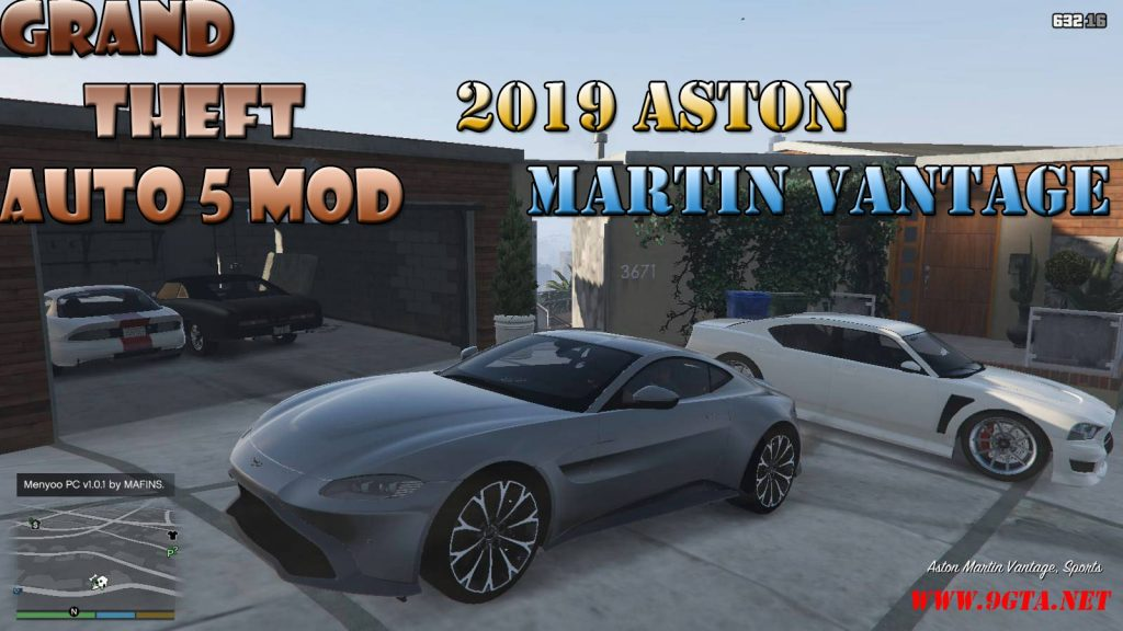 2019 Aston Martin Vantage v3.0 Mod For GTA5
