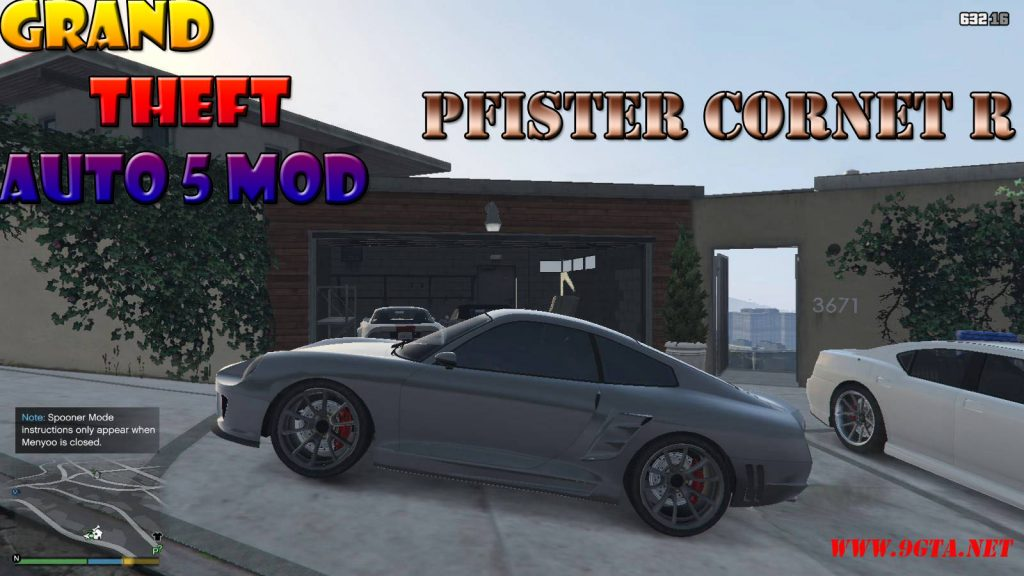 Pfister Cornet R Car Mod For GTA5