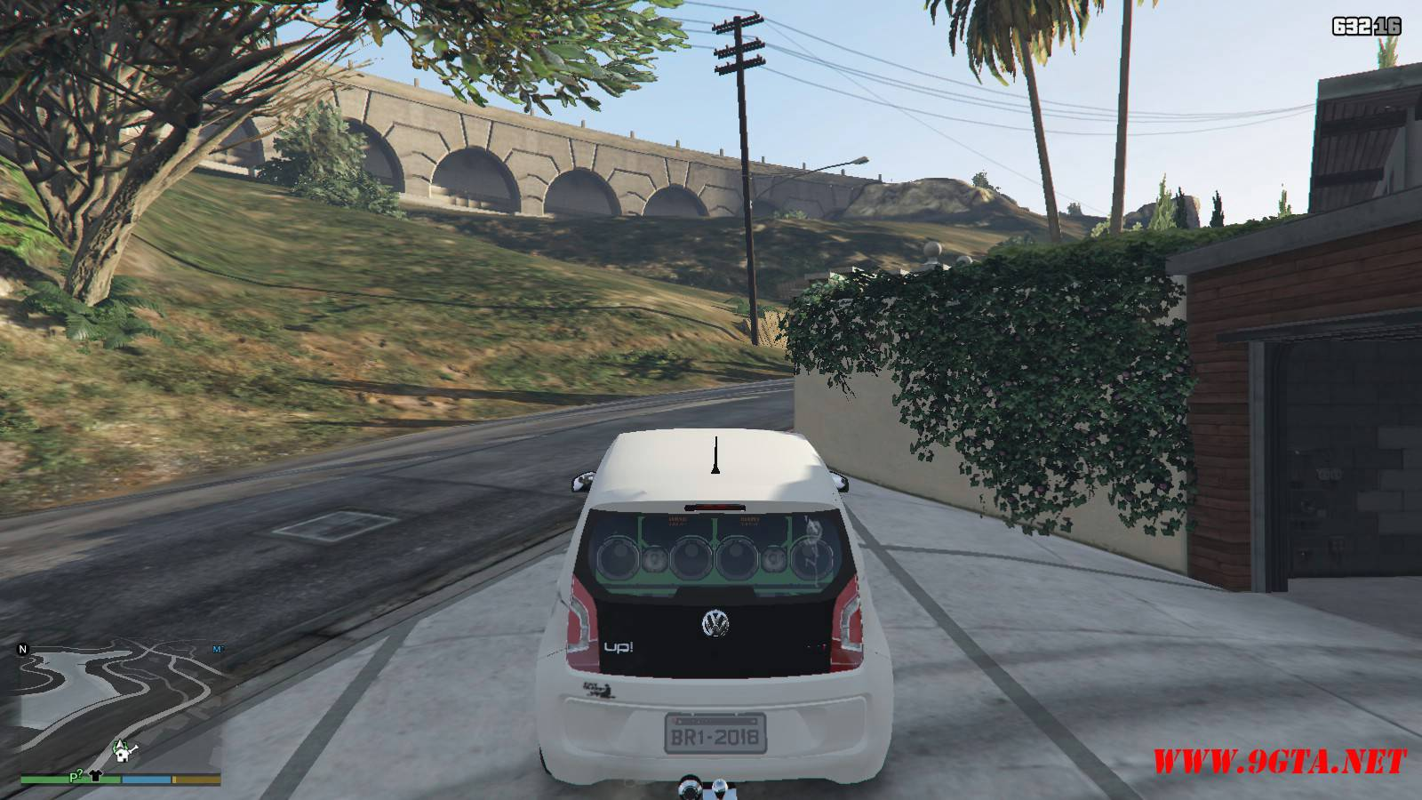 Wolksvagen UP TSI Mod For GTA5 (10)