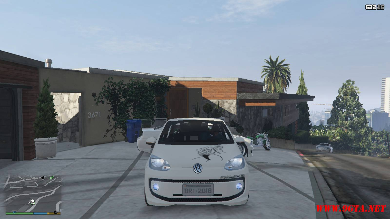 Wolksvagen UP TSI Mod For GTA5 (15)