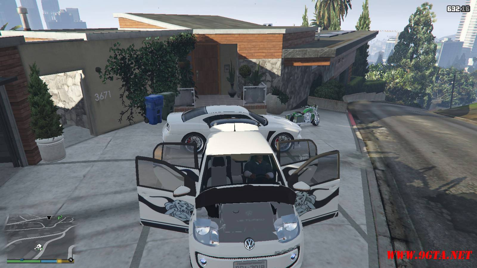 Wolksvagen UP TSI Mod For GTA5 (19)