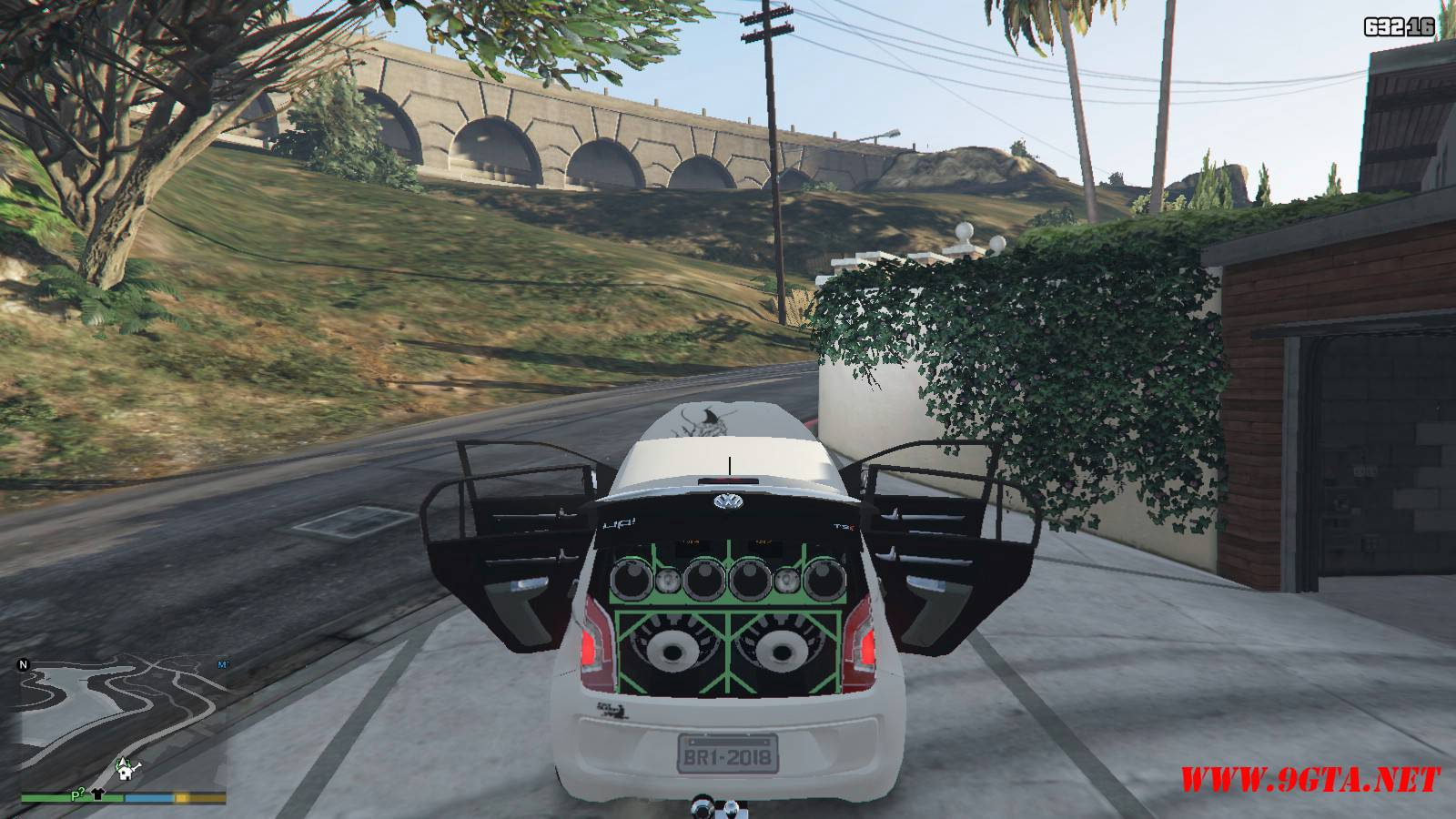 Wolksvagen UP TSI Mod For GTA5 (21)
