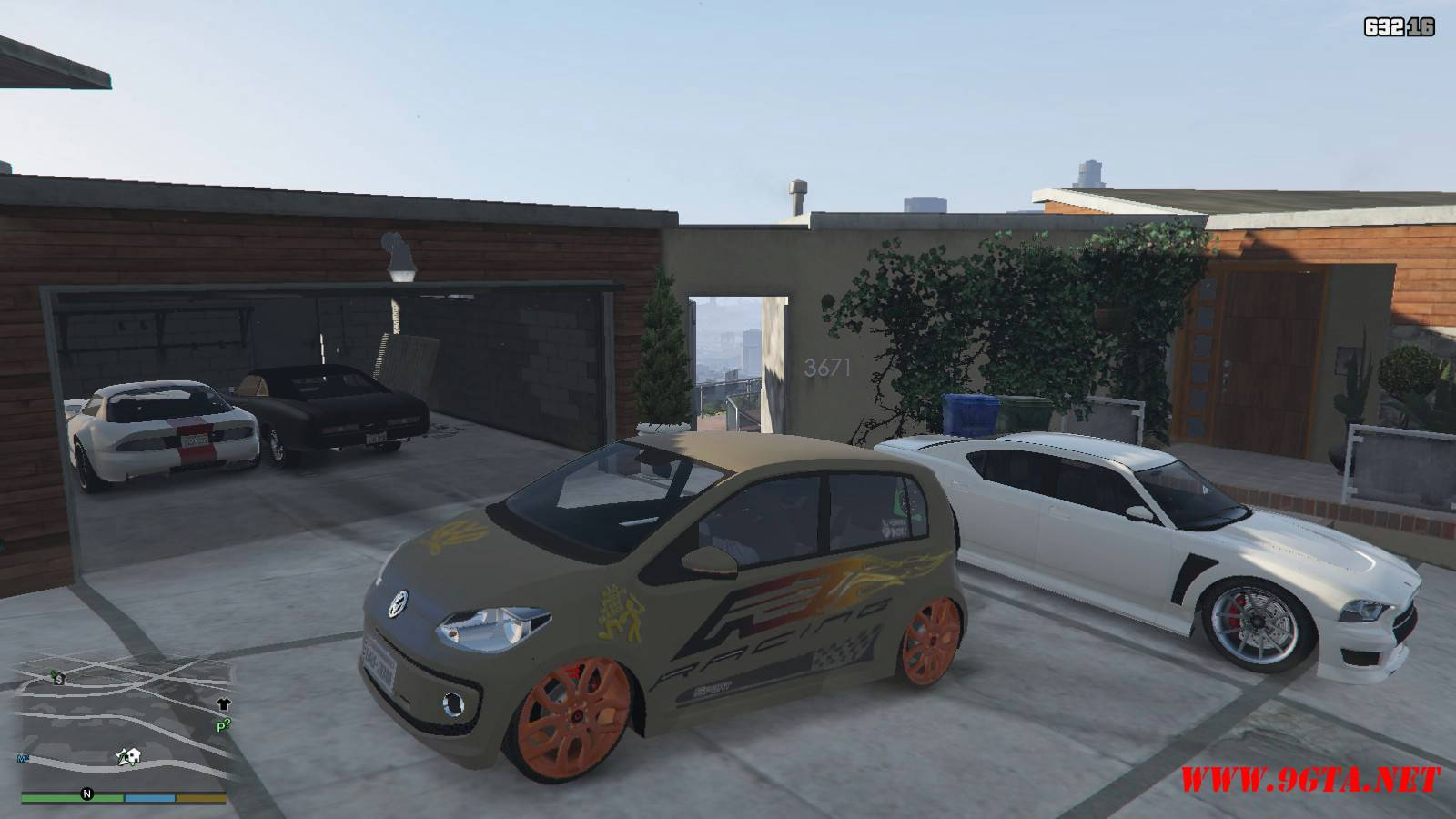 Wolksvagen UP TSI Mod For GTA5 (4)