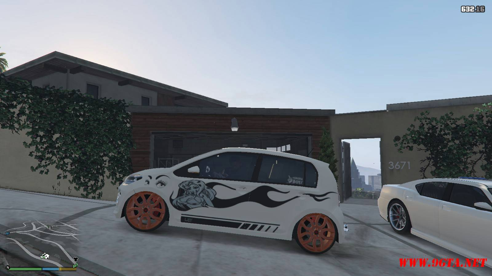 Wolksvagen UP TSI Mod For GTA5 (6)