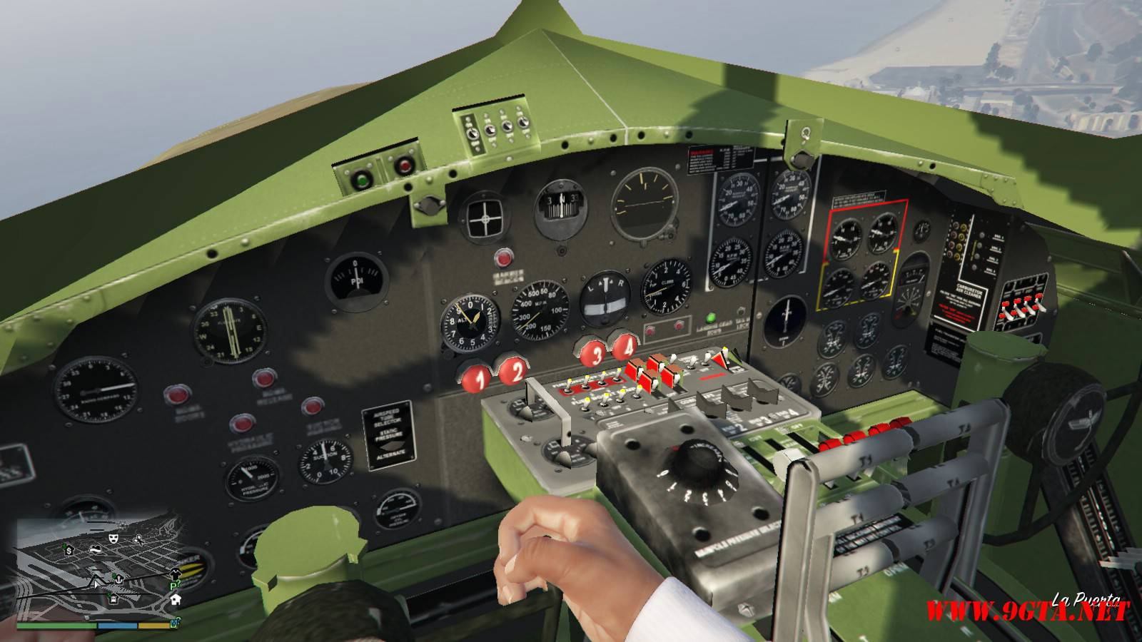 B-17E Flying Fortress Mod For GTA5 (10)
