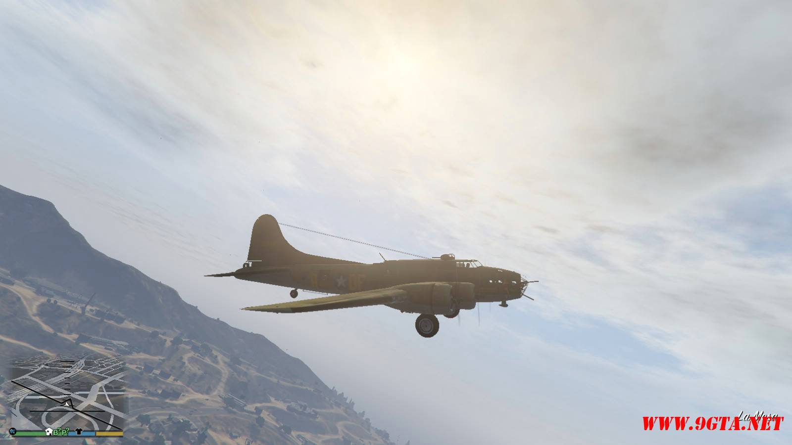 B-17E Flying Fortress Mod For GTA5 (3)