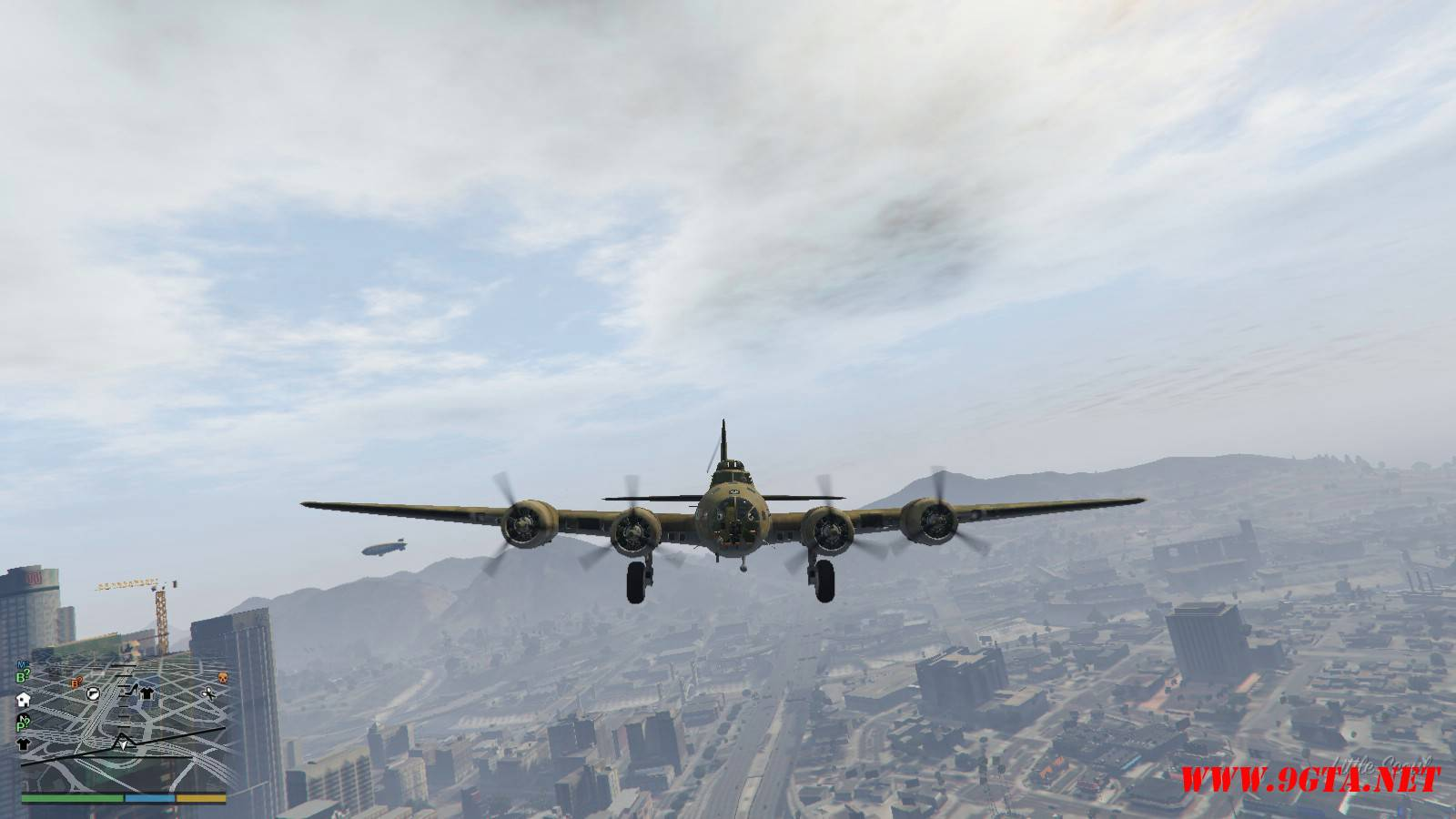 B-17E Flying Fortress Mod For GTA5 (7)