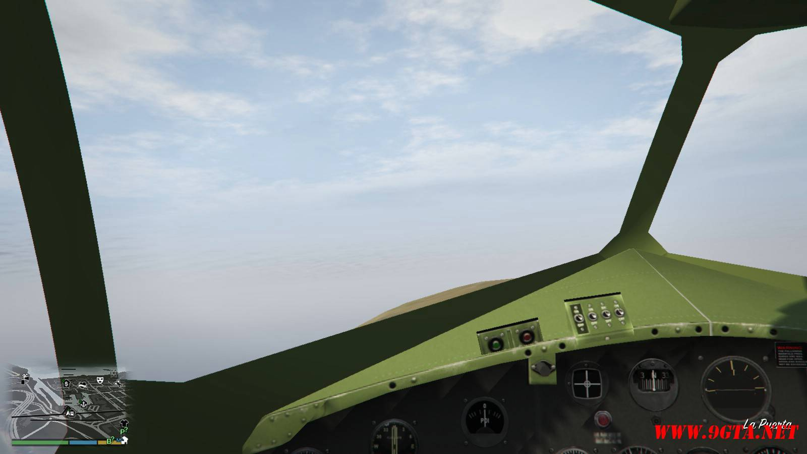 B-17E Flying Fortress Mod For GTA5 (9)