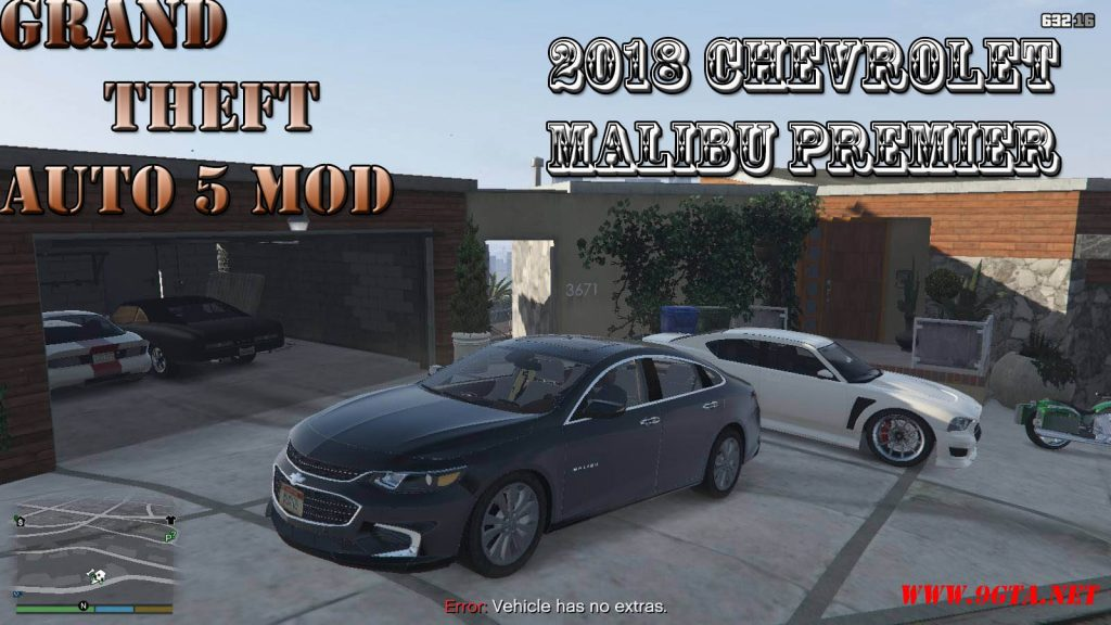 2018 Chevrolet Malibu Premier Mod For GTA5