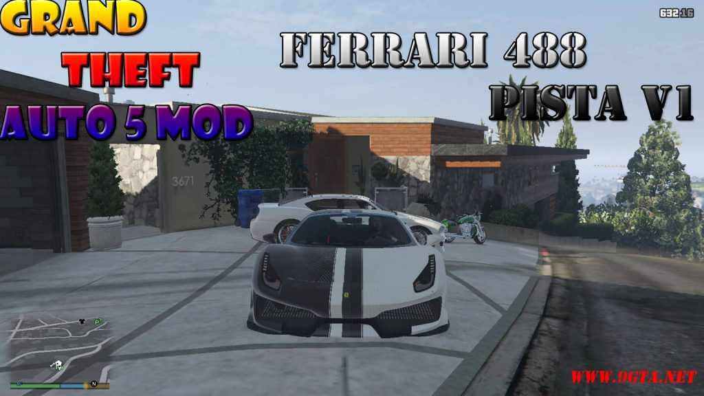 Ferrari 488 Pista v1.2 Mod For GTA5