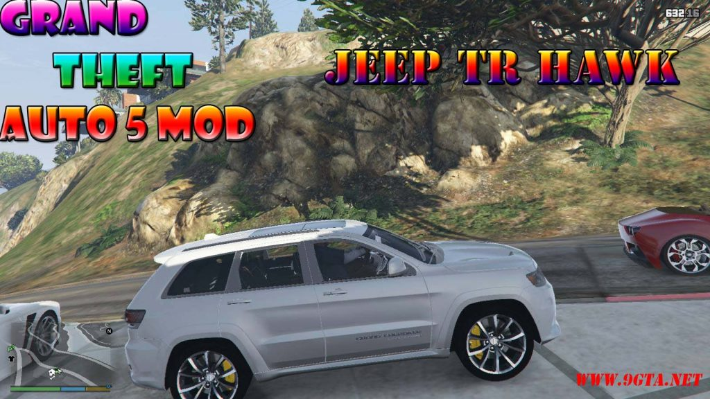 Jeep TRHAWK Car Mod For GTA5