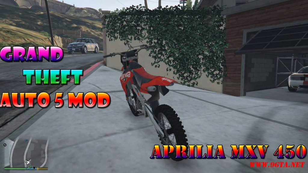 Aprilia MXV 450 Mod For GTA5