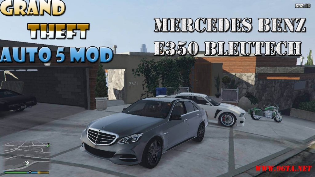 Mercedes BenZ E350 Bleutech Mod For GTA5