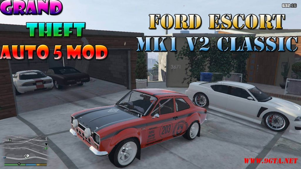 Ford Escort MK1 v2 Mod For GTA5