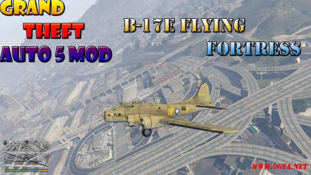 B-17E Flying Fortress Mod For GTA5