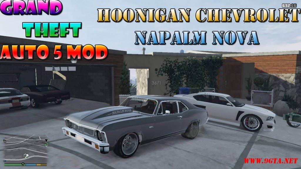 Hoonigan Chevrolet Napalm Nova 1 Mod For GTA5